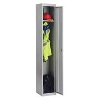 Image for Bisley 1 Door Locker 305x305x1802mm Goose Grey