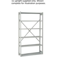Bisley Shelving Extension Kit W1000 x D300mm Grey 1018ESEXK30-AT4