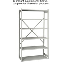 Bisley Shelving Extension Kit W1000 x D460mm Grey 1018ESEXK46-AT4