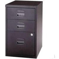 Bisley A4 Homefiler 3 Drawer Lockable Black PFA3-93