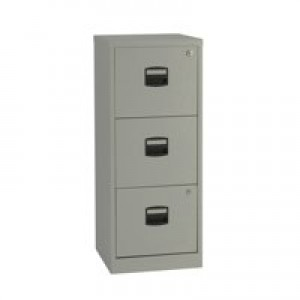 Bisley A4 Personal Filer 3-Drawer Grey BY60794