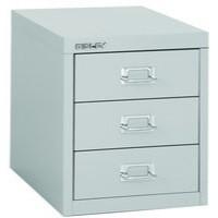 Bisley Non-Locking Multi-Drawer Cabinet 3 Drawer Grey