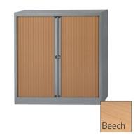Image for Bisley Euro Tambour Unit 1030mm 2-Shelf Beech