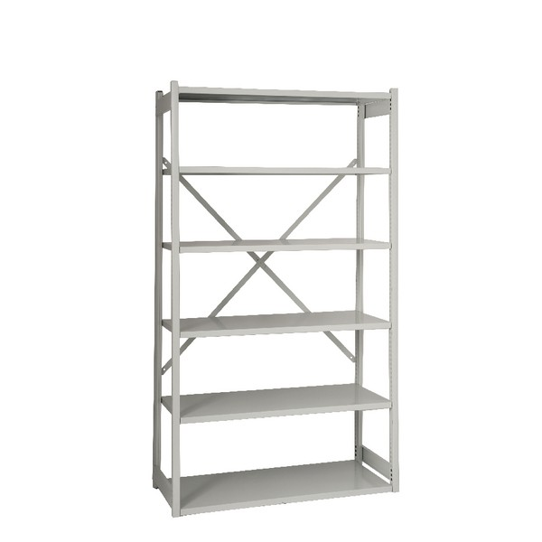 Bisley Shelving Starter Kit W1000 x D460mm Grey