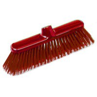 Broom Head Hard Red 30cm P04052