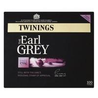 Twinings Earl Grey Tag Tea Bag Pack of 100 F78051