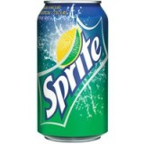 Sprite Lemon 330ml Can Pack of 24 A00722