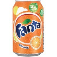 Fanta Orange 330ml Can Pack of 24 A00769