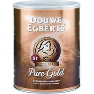 Douwe Egberts Pure Gold Continental Instant Coffee 750g (Pk 1) A05593