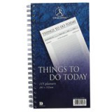 Challenge Planning Book Things to do Today Wirebound Perforated 115 Pages 280x152mm Code