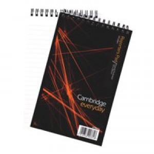 Cambridge Notebook Headbound Wirebound 70gsm Ruled 300pp 200x125mm Ref 100080435 [Pack 5]