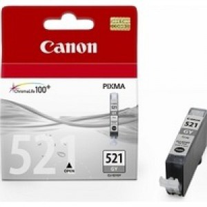 CANON CLI-521 GREY INK COLOUR INK