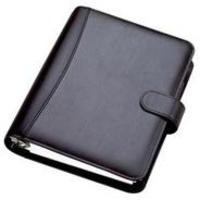 Collins Chatsworth Personal PU Organiser Black PR2999