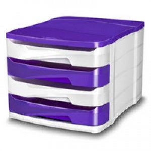 CEP Pro Gloss Drawer Set Purple 394Bi