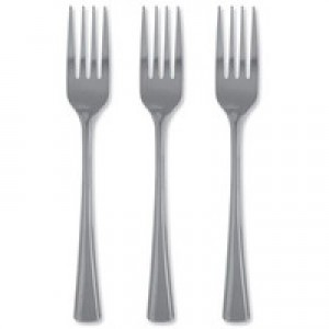 Stainless Steel Cutlery Forks Pack of 12 F09452