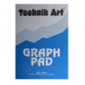 Technik Art Graph Pad A4 5mm Quadrille 40 Leaf XPG6