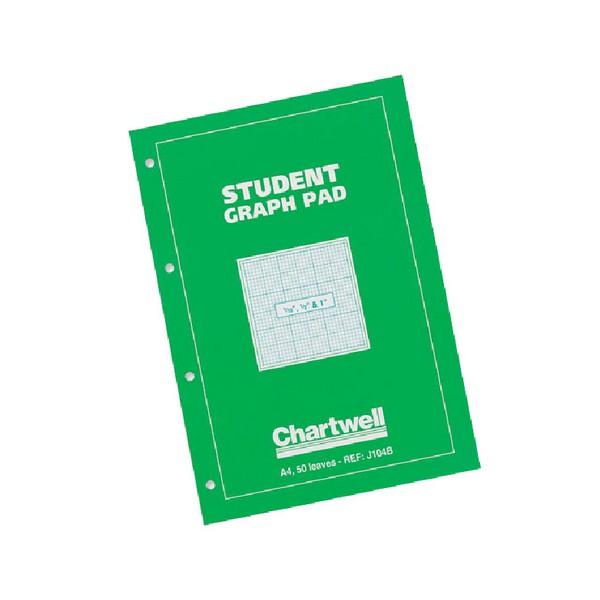 Chartwell Graph Pad A4 Tenths J104B