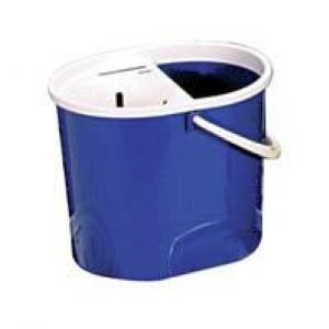 Mop Bucket Oval 15  litre Blue