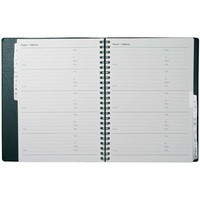 Collins Wiro Address Book 120x148mm Black BA5