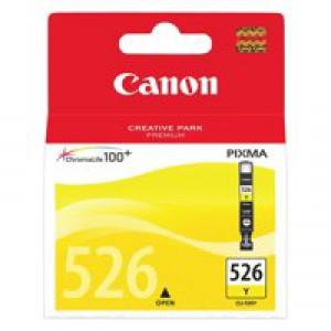 Canon 4543B001AA CLI526Y Yellow Ink
