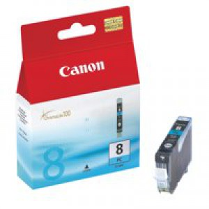 Canon 0624B001AA CLI8PC Cyan Ink