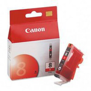 Canon 0626B001AA CLI8R Red Ink