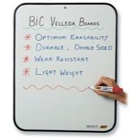 Bic Velleda Dry Wipe Board 190x260mm Blue 841360