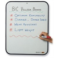 Bic Velleda Dry Wipe Board 190x260mm Blue 218 002183