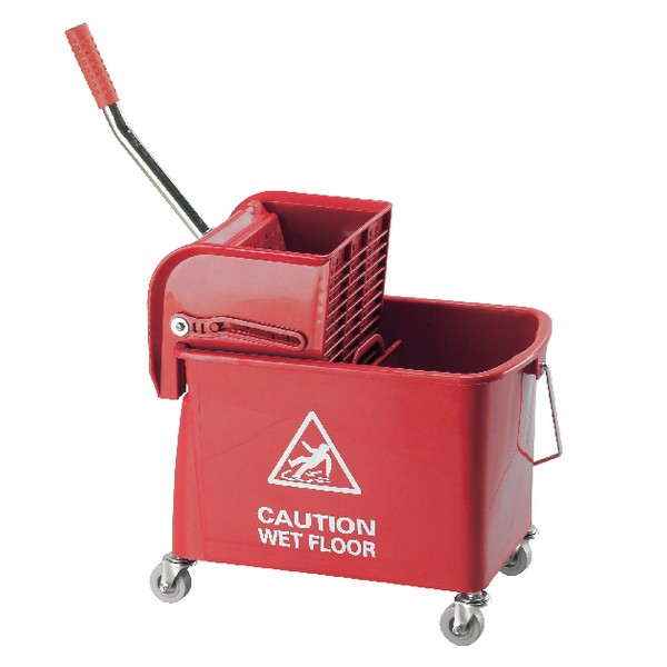 Contico Mobile Mop Bucket 15 Litre Red COM450RED