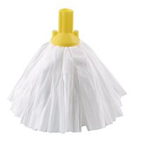 Contico Standard Big White Exel Mop Yellow Pack of 10 PSYE1210P