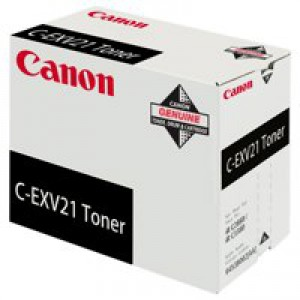 Canon C-EXV21 Toner Cartridge Black 0452B002
