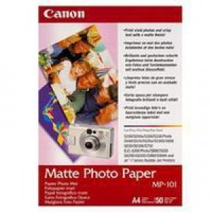 Canon Matt Photo Paper A3 MP-101A3 Pack of 40