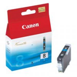 Canon Pixma iP4200/MP830 Inkjet Cartridge Cyan CLI-8C