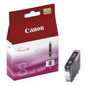 Canon Pixma iP4200/MP830 Inkjet Cartridge Magenta CLI-8M