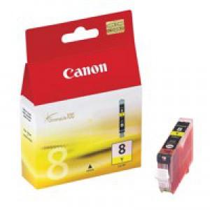 Canon Pixma iP4200/MP830 Inkjet Cartridge Yellow CLI-8Y