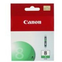 Canon CLI-8 Inkjet Cartridge Page Life 430pp Green Ref 0627B001