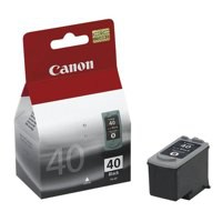 Canon Pixma MP460/MP150/MP170 Inkjet Cartridge Black PG-40