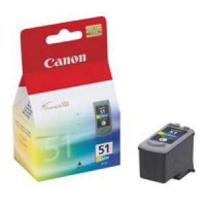 Canon Pixma iP2200/MP150/MP170/MP460 Inkjet Cartridge Colour CL-51