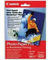 Canon Bubble Jet Paper PR-101 10x12 inches Pack of 20 Sheets 1029A061