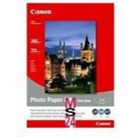 Canon Bubble Jet Paper Semi-Gloss SG-201 8x10 Inches Pk 20 Sheets 1686B018