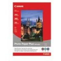 Canon Photo Paper Plus Semi-Gloss SG-201 A4 Pk 20 Sheets 1686B021