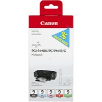 Canon Ink Cartridge PGI9 Multi-Pack Black/Photo Cyan/Photo Magenta/Red/Green 1033B011