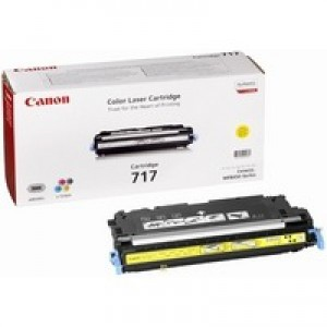 Canon MF8450 717Y Laser Toner Cartridge 4000 Prints Yellow 2575B002AA