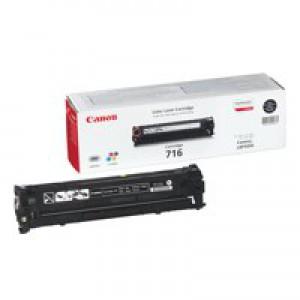 Canon LBP-5050/5050N 716BK Laser Toner Cartridge 2300 Prints Black 1980B002AA