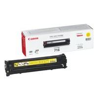 Canon LBP-5050/5050N 716Y Laser Toner Cartridge 1500 Prints Yellow 1977B002AA