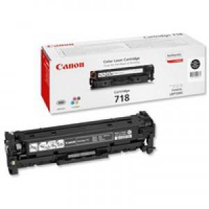 Canon i-Sensys LBP-7200CDN Laser Toner Cartridge Black CRG718BK