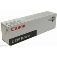 Canon C-EXV18 Copier Toner Cartridge Page Life 8400pp Black Ref 0386B002