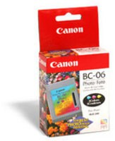 Canon Bubble Jet BJC-1000/BJC-250 Photo Inkjet Cartridge BC-06