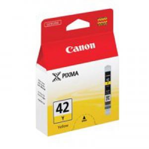 Canon Pixma CLI-42Y Inkjet Cartridge Yellow 6387B001