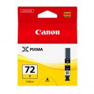 Canon Pixma Pro-10 PGI-72Y Inkjet Cartridge Yellow 6406B001